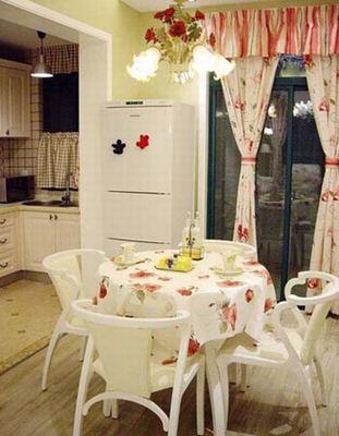 田园 二居 小资 成都装修 餐厅图片来自香港古兰装饰-成都在田园风格家装的分享