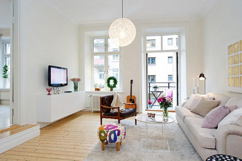 二居 小资 客厅图片来自常秦装饰在弘建一品的分享
