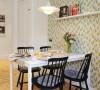 餐厅 整套的餐桌、餐椅,都是以原木色为基础而来搭配的