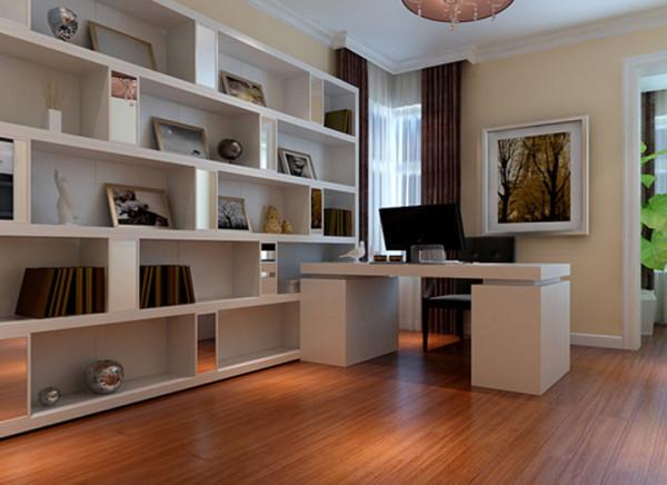 亮点:设计师是用的家具是白色为主的现代家具,既符合整体设计风格,也体现了和谐的用色理念,这样的搭配成就了一室的素雅与舒适。