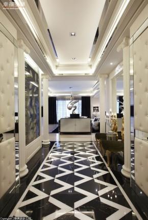 时尚 欧式 典雅 公主房 白富美 玄关图片来自幸福空间在330平精品魅力 奢华宫廷风的分享