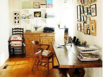 文艺滴书桌空间