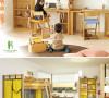 儿童房布置参考,为以后备着吧。