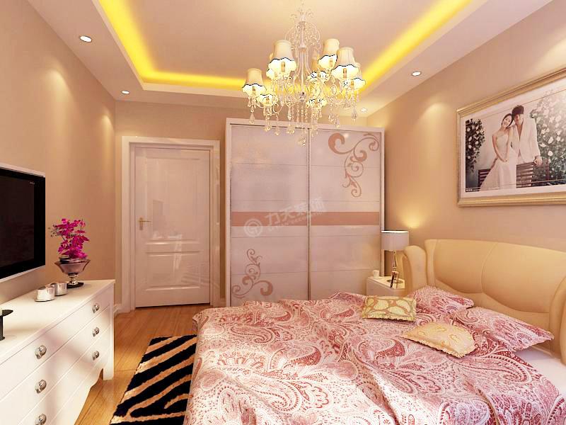 简约 三居 白领 收纳 旧房改造 80后 小资 卧室图片来自阳光力天装饰糖宝在海河大观的分享