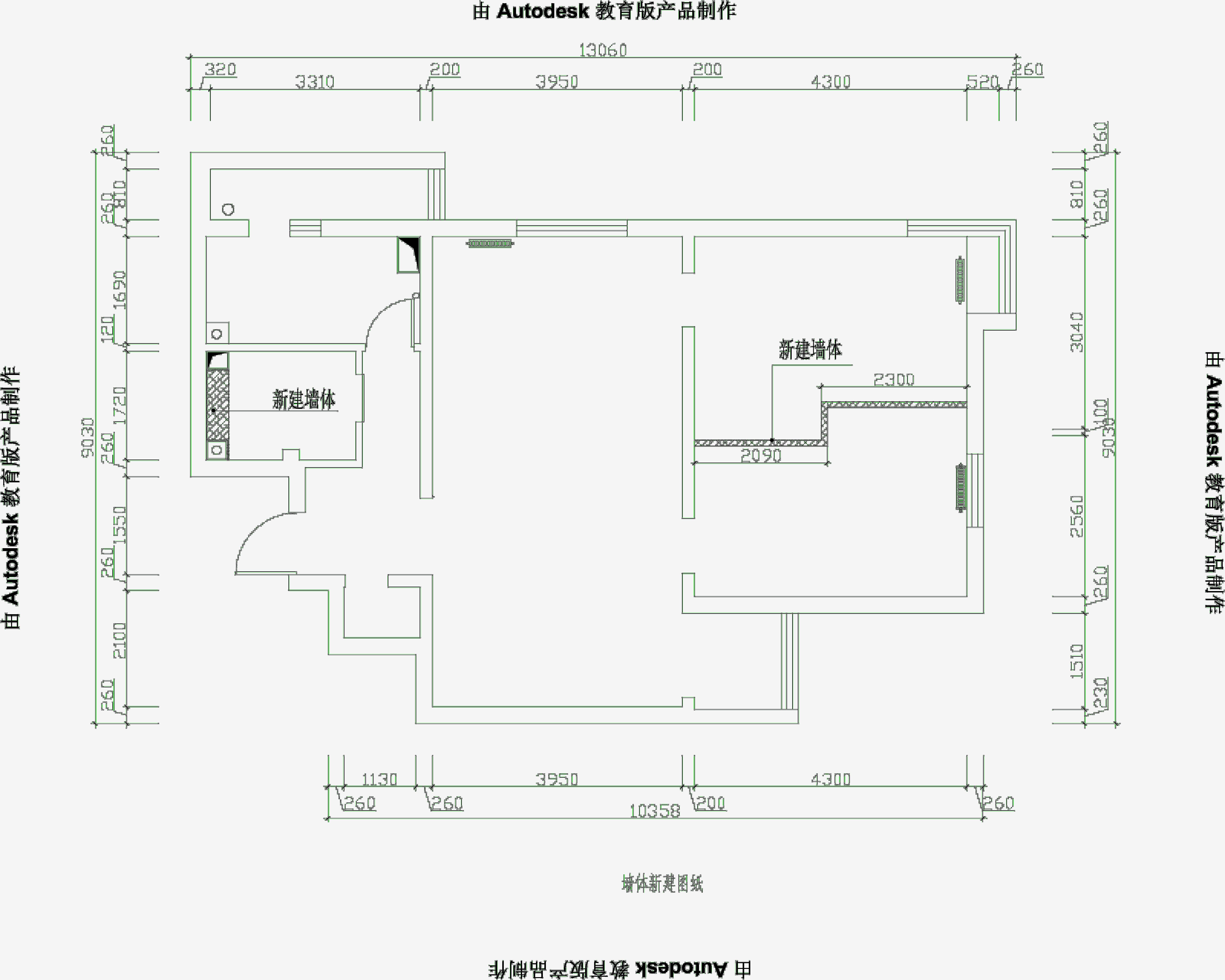 二居 现代 婚房 老房翻新 芍药居北里 户型图图片来自xushuguang1983在简洁现代86平米实景两居婚房的分享