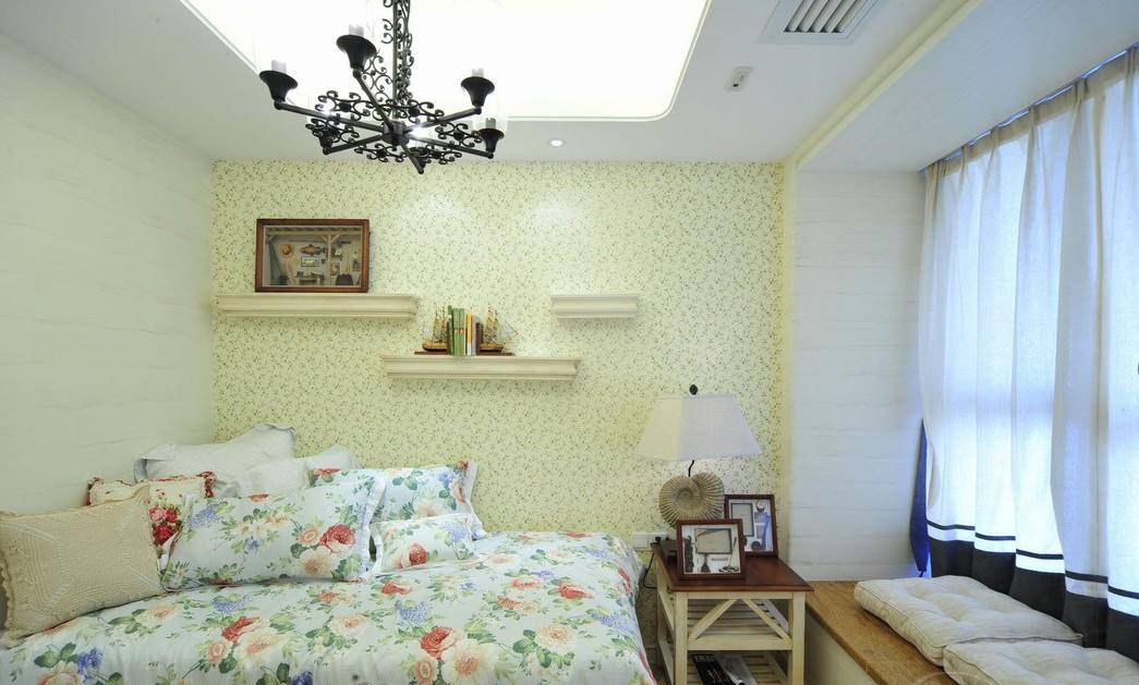 卧室图片来自向宏在西班牙地中海风格两室两厅的分享