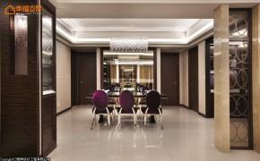 欧式 白富美 公主房 二居 餐厅图片来自幸福空间在280平闪耀奢华表情的白領居宅的分享