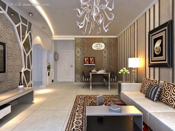 现代混搭-客厅餐厅设计