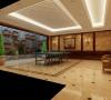 远洋天著别墅室内设计方案展示
