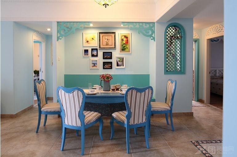 地中海 二居 80后 小资 餐厅图片来自向宏在地中海风格两居的分享