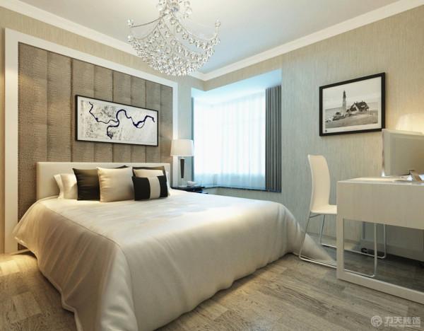 现代温馨的卧室