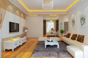 简约 二居 白领 收纳 旧房改造 80后 小资 公主房 客厅图片来自北京今朝装饰-涛子在理想城的分享