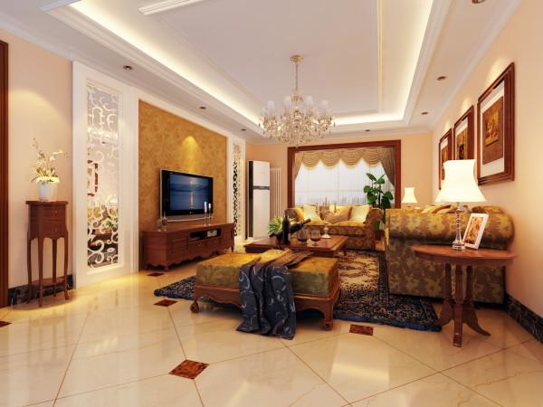 设计亮点:客户对原有的户型结构很满意,该设计风格是简欧风格,家具大部分采用的纯实木,还有具有代表性的灯具、软装配饰,将简欧风格的特点体现了出来。