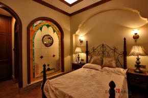 美式 别墅 高富帅 名雕丹迪 海景别墅 卧室图片来自名雕丹迪在200平美式海景别墅,休闲圣地的分享