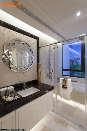 艺术 欧式 混搭 三居 白领 白富美 卫生间图片来自幸福空间在致231平新窝的新艺术场景的分享