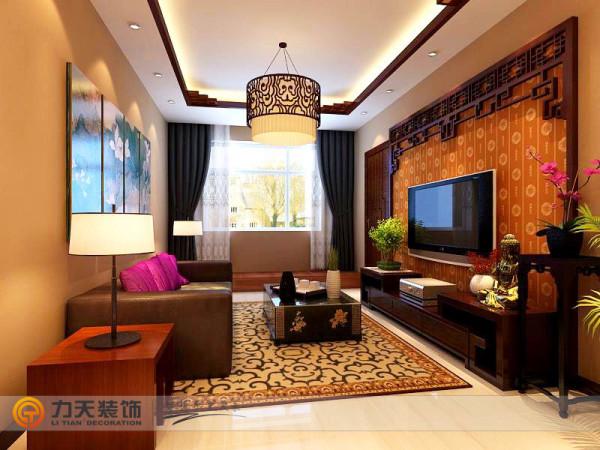 客厅的吊顶,灯具,背景墙,别具一格~