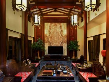 800平中式别墅,宁静闲适的生活