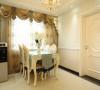 100平二房欧式装修柔和的色彩