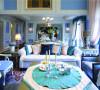拾阶步入室内,环顾整个空间,没有夸张的造型,亦无强烈的视觉冲击,纯白、淡蓝、浅绿……这些温柔的颜色静静融合、悄悄对话,令人如沐春风。