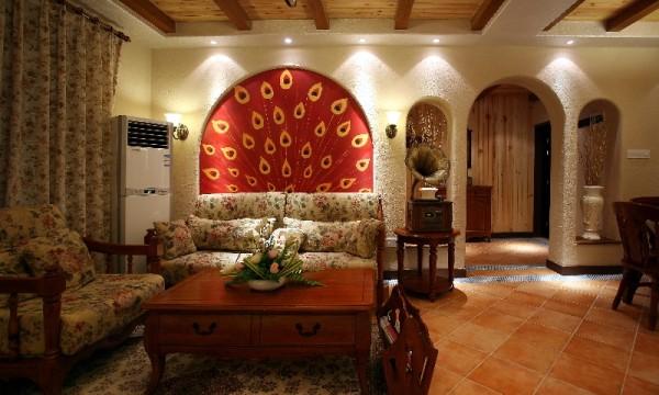 温柔的颜色静静融合、悄悄对话,令人如沐春风。浅黄色的装饰墙面和素雅的白色是这个空间的基调,地面铺设羊毛地毯、沙发、餐桌在这里组合出一个个独特的区域。