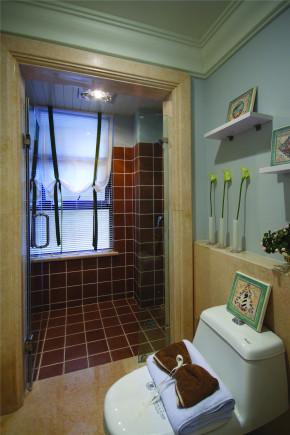 地中海 法式 新古典 别墅 混搭 收纳 小清新 女士 卫生间图片来自装修小管家在伸手可得的幸福的分享
