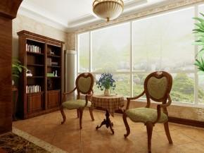 美式风格 合建装饰 北京装修 三居 别墅 旧房改造 客厅 卧室 厨房 其他图片来自合建装饰在天恒乐活城D5的分享
