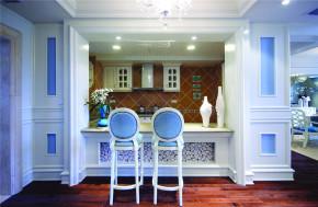 地中海 法式 新古典 别墅 混搭 收纳 小清新 女士 餐厅图片来自装修小管家在伸手可得的幸福的分享