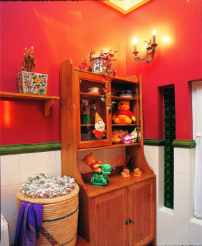 田园 地中海 儿童房 小清新 二居 混搭 简约 儿童房图片来自装修小管家在华清嘉园的分享