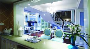 地中海 法式 新古典 别墅 混搭 收纳 小清新 女士 楼梯图片来自装修小管家在伸手可得的幸福的分享