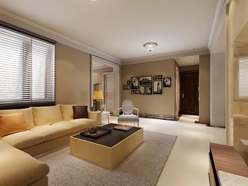 天辰公寓110平米现代简约设计