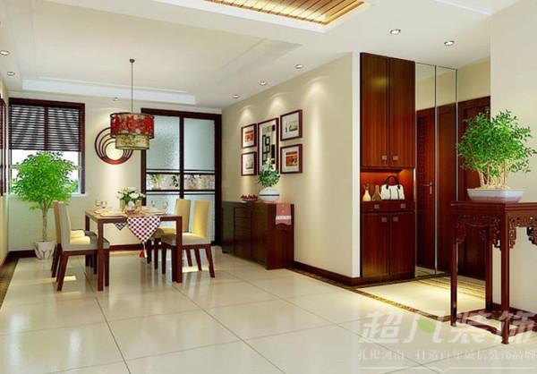 河南超凡装饰-非常国际四室两厅170平新中式装修案例(餐厅)
