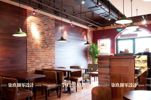 东南亚风格设计,七九八零设计工作室,七九八零公装,咖啡厅设计 ,七九八零