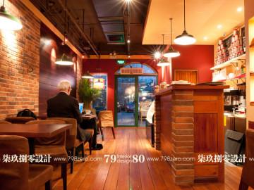 东南亚托斯卡纳风格咖啡厅设计