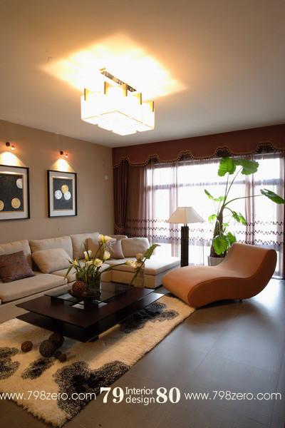 七九八零,简约风格设计,七九八零设计工作室,客厅设计,旧房改造,