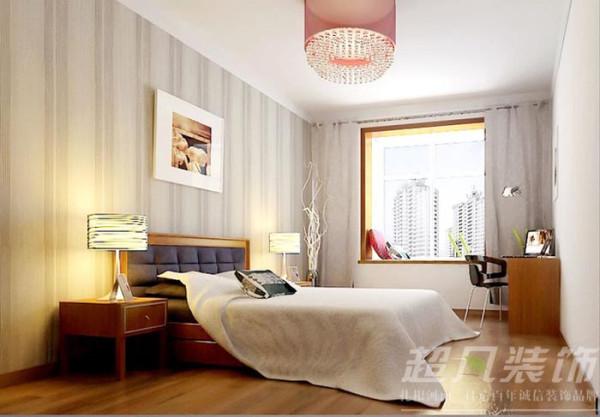 河南超凡装饰-非常国际四室两厅170平新中式装修案例(卧室)