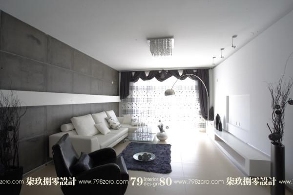 七九八零,旧房改造,简约风格,客厅设计,七九八零设计工作室
