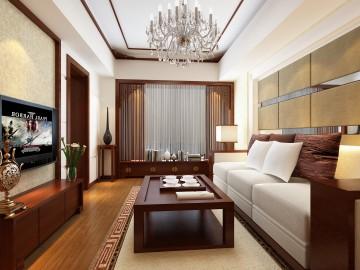 一居室新中式风格装修