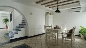 二居 地中海 白领 收纳 旧房改造 田园 小清新 餐厅图片来自装修小管家在恋上地中海岸的夏日转角的分享