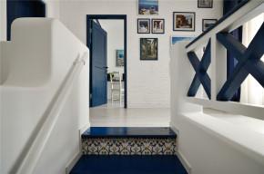 二居 地中海 白领 收纳 旧房改造 田园 楼梯图片来自装修小管家在恋上地中海岸的夏日转角的分享