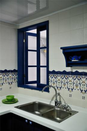 二居 地中海 白领 收纳 旧房改造 田园 小清新 厨房图片来自装修小管家在恋上地中海岸的夏日转角的分享