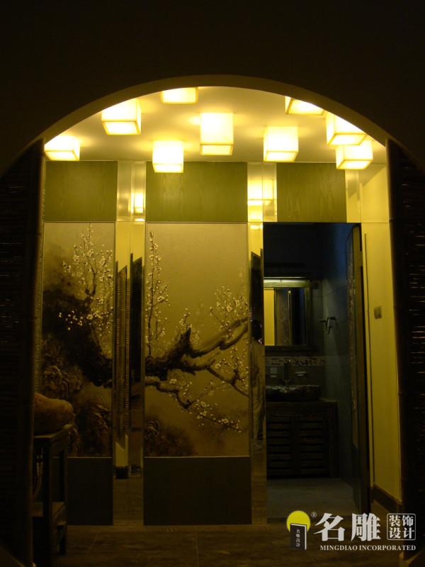 卫生间暗门