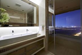 欧式 新古典 混搭 三居 白领 白富美 卫生间图片来自幸福空间在一眼爱上 黑白现代新古典宅邸的分享