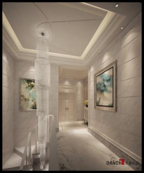 新古典 别墅 高富帅 名雕丹迪 混搭 楼梯图片来自名雕丹迪在回家的诱惑:新古典温馨雅致别墅的分享