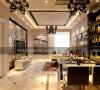 简约欧式-客厅餐厅设计