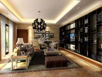 富力湾800平米新古典风格设计