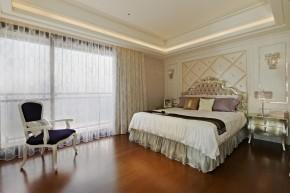 欧式 新古典 混搭 三居 白领 白富美 卧室图片来自幸福空间在一眼爱上 黑白现代新古典宅邸的分享