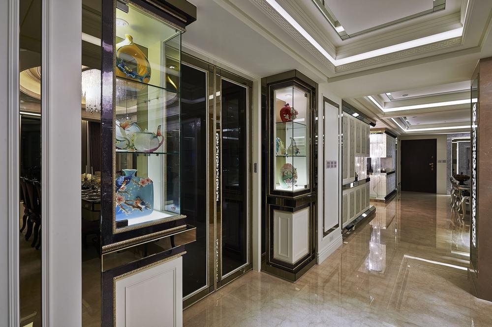 新古典 欧式 三居 白富美 公主房 白领 厨房图片来自幸福空间在298 m²精工时尚新古典的分享