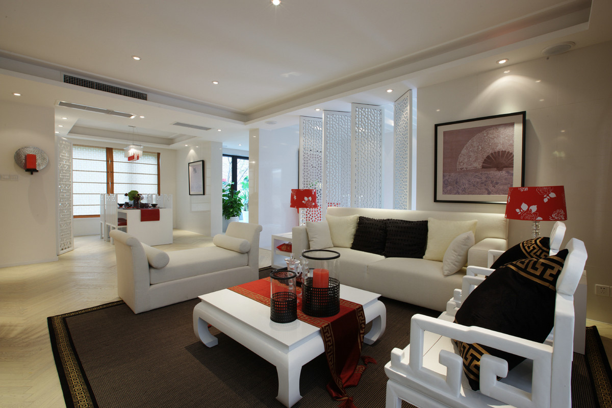 三居 80后 旧房改造 小资 客厅图片来自广州品峰装饰在汇景新城的分享
