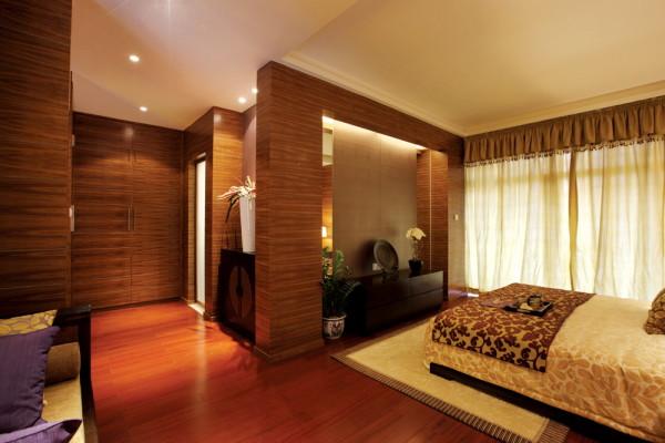 顺义430平米后现代别墅-卧室的整体效果