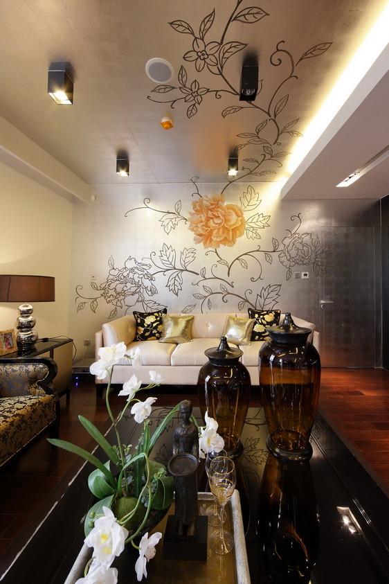 北京新天地后现代别墅装修-客厅效果图